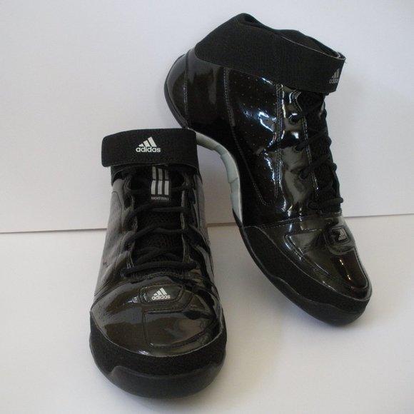Adidas Mens Sz 13 Climacool Black Patent Leather